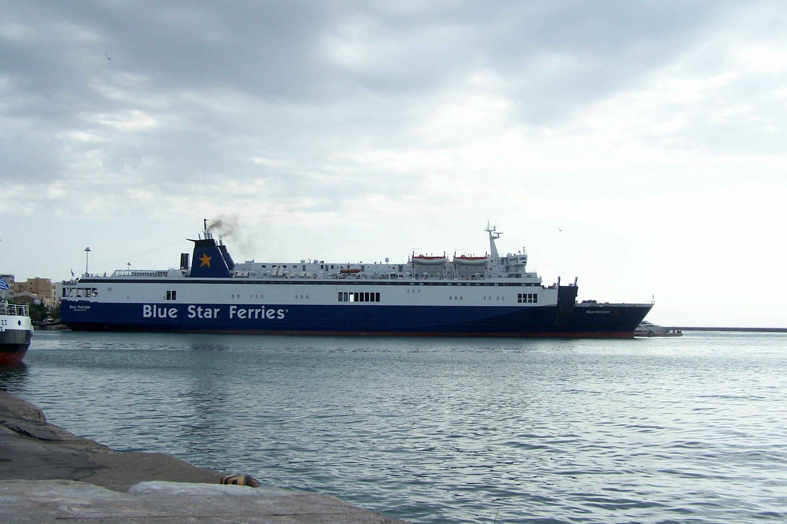 BLUE STAR FERRIES FB Blue Horizon 15_Personale 04Ag05