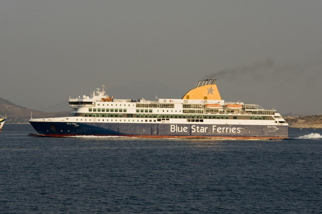 BLUE STAR FERRIES - Blue Star Delos