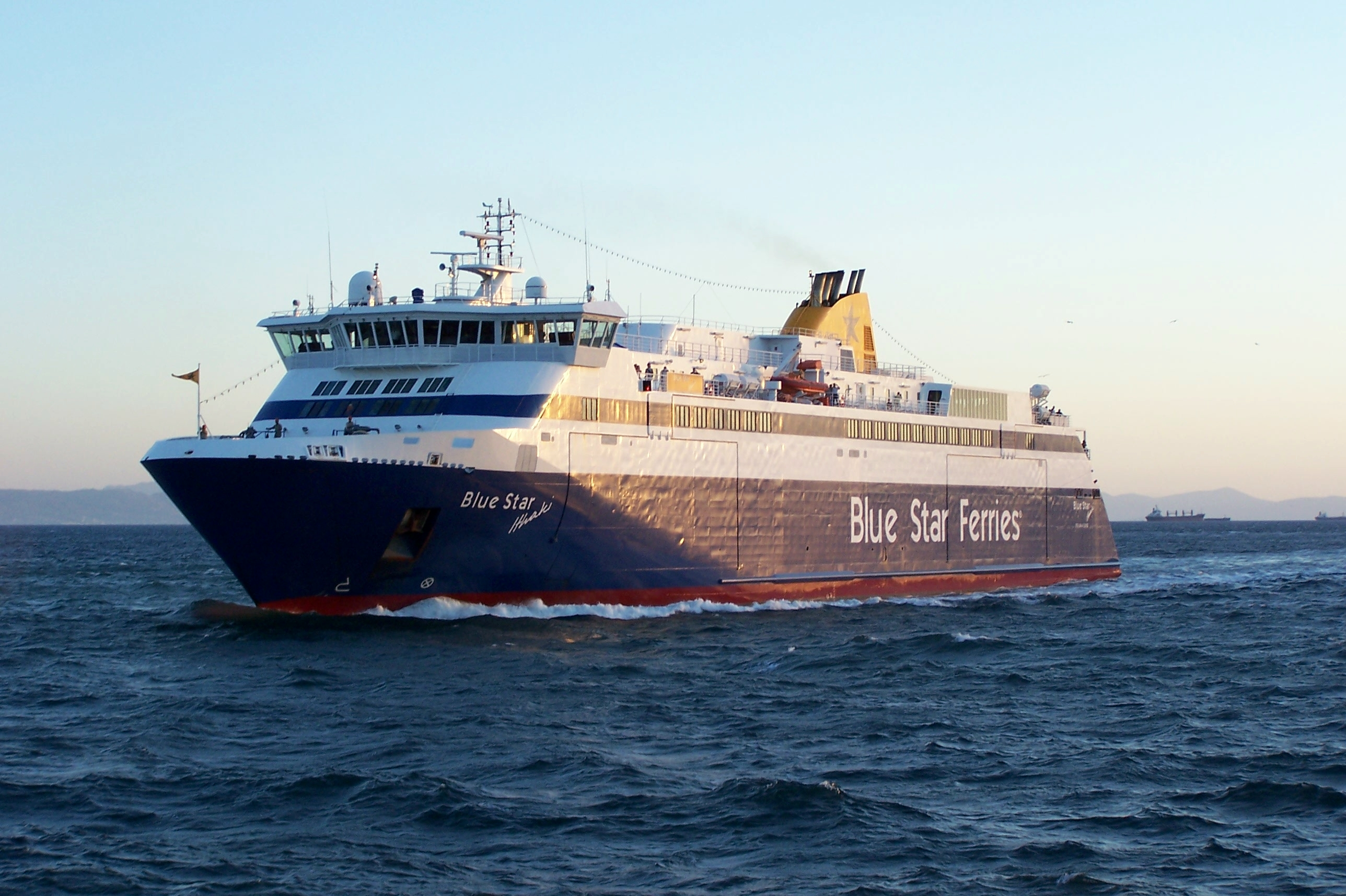 BLUE STAR FERRIES HSF Blue Star Ithaki 08_Personale 17Ag05