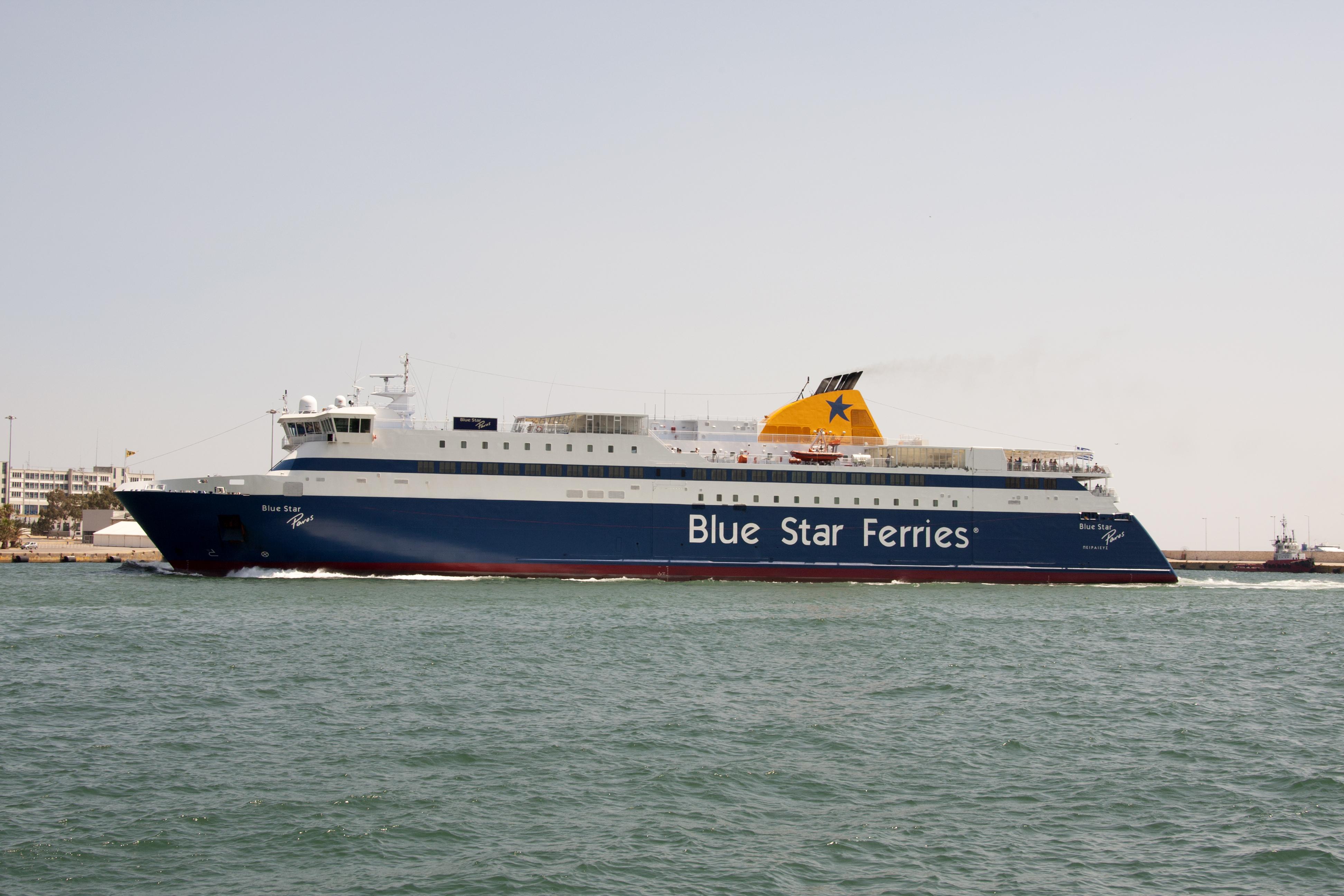 BLUE STAR FERRIES - Blue Star Paros