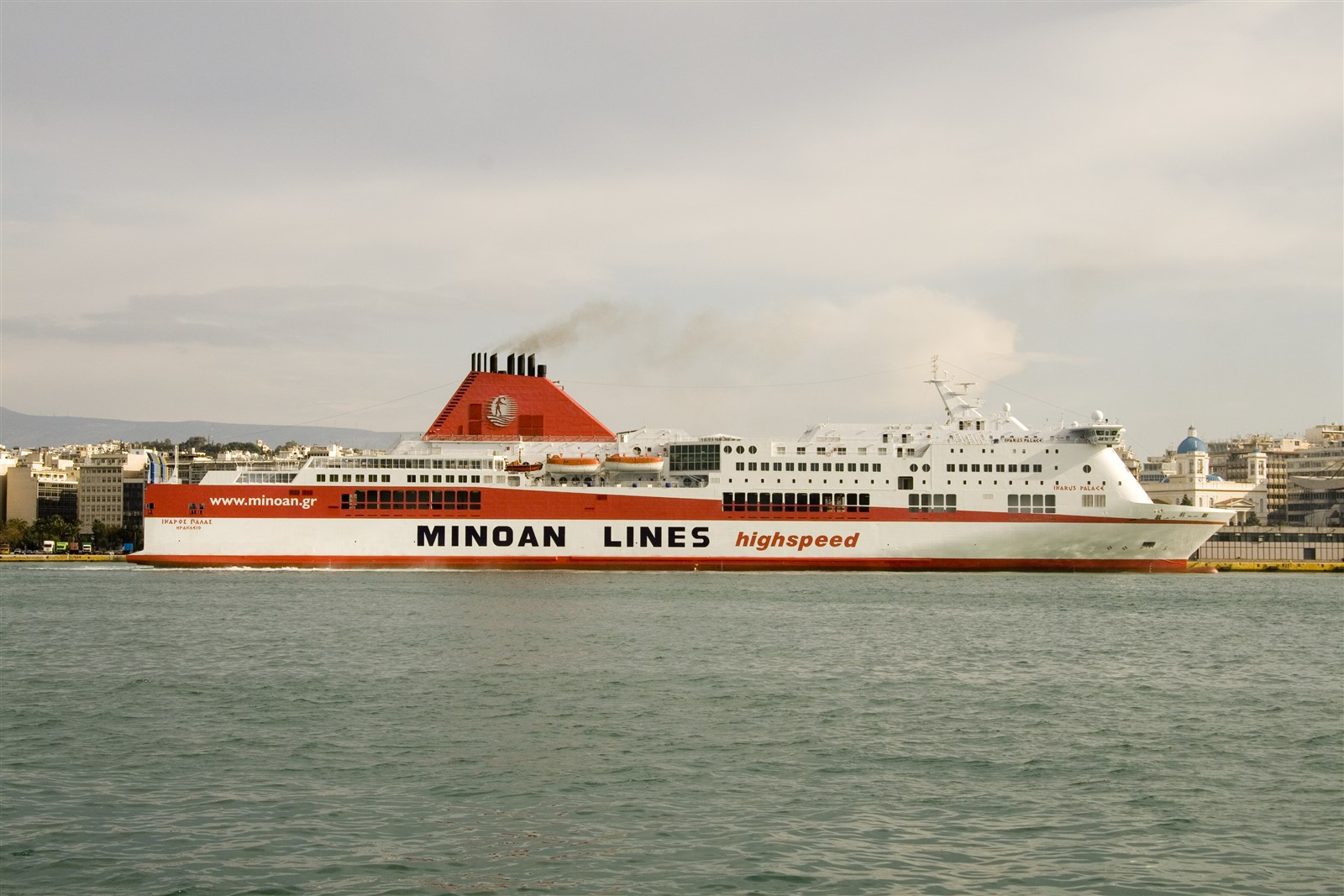 MINOAN LINES HSF Ikarus Palace 28_Personale 29No07