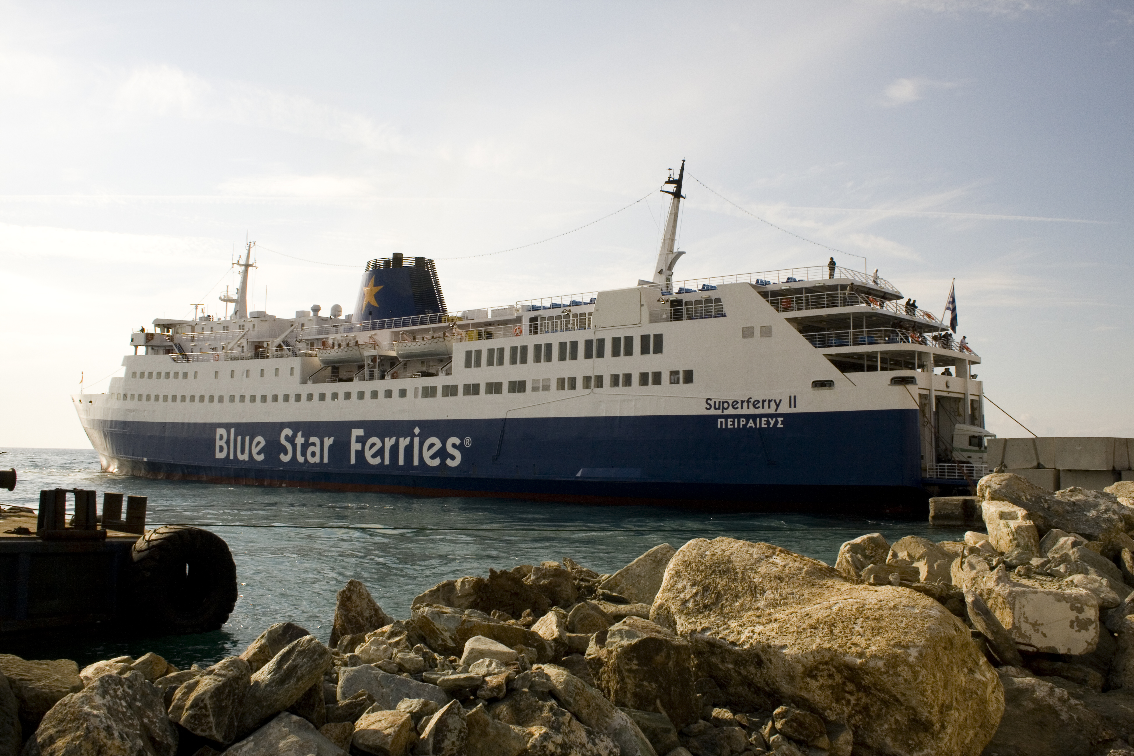 BLUE STAR FERRIES FB Superferry II 13_Personale 09Ge07