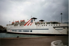 STRINTZIS LINES - SWANSEA CORK FERRIES FB Superferry