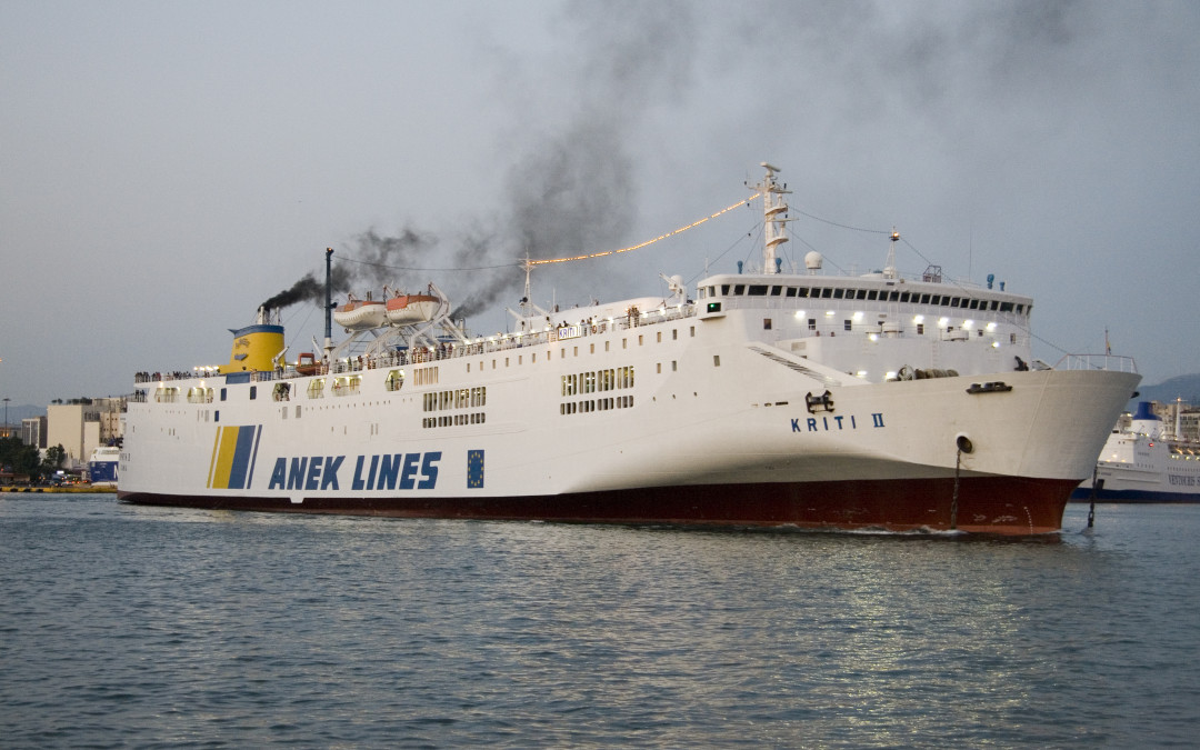 Magna Grecia: la KRITI II in noleggio per TTT Lines tra Catania e Napoli