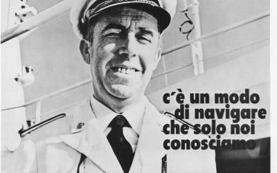 La pubblicità Tirrenia nel turismo degli anni '70
