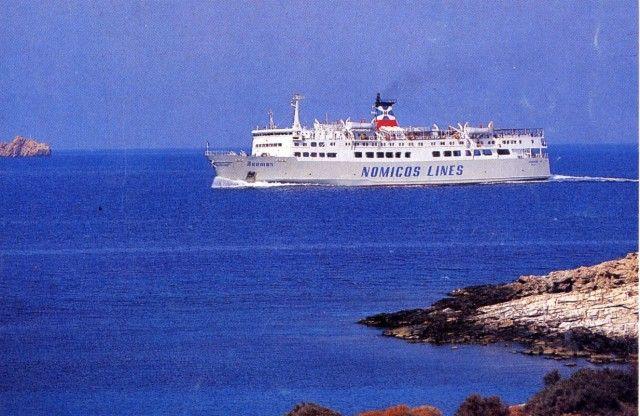 ImMUROTOale: la MIRTIDIOTISSA nella sua nuova avventura in Grecia da Agios Kostantinos alle Sporadi