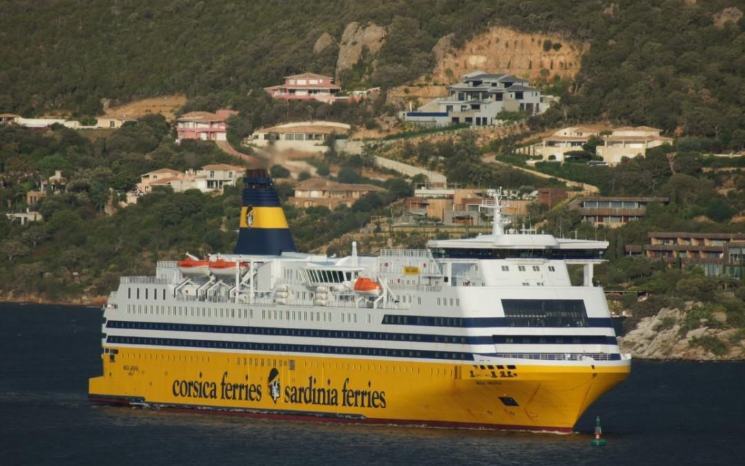 Conosciamo il Mega Andrea di Corsica Ferries