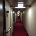 """Corridoio cabine """"Ruby"""""""