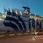 gnv Cristal a Porto Torres