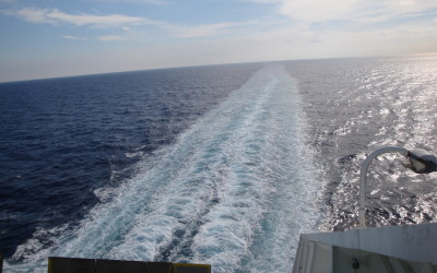 Cruise Barcelona a Porto Torres (Video)